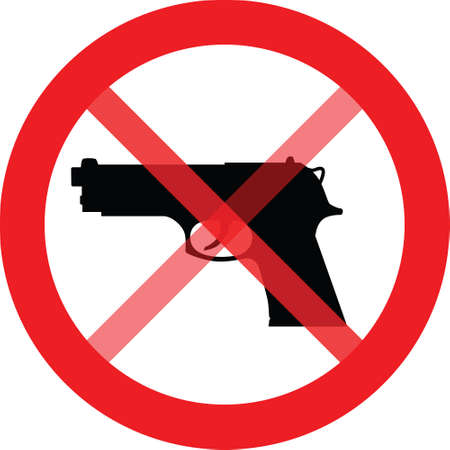 It is forbidden to enter weapons
