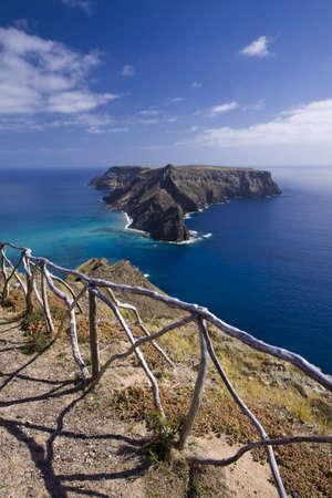santo: Ilheu da Cal, Porto Santo, Madeira islands in Portugal