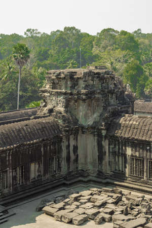 lord vishnu: The most famous temple in Cambodia - Angkor Wat. The temple is dedicated to Lord Vishnu