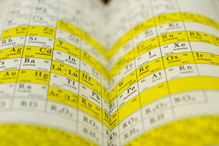 expanded: The book is in expanded form on a straw background.