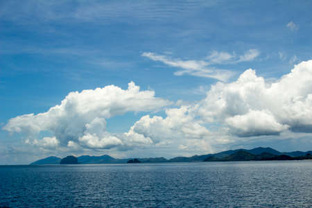 Sea sketches and landscapes around the island of Phuket photo