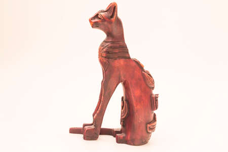 blissfully: The Egyptian cat. The Egyptian cat - blissfully Egyptians revered animal. Having a cat in ancient Egypt was considered a privilege of only the richest people. In addition, the Egyptian cat is the guardian of the hearth