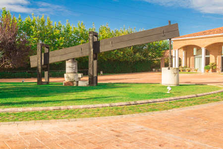 ravel: Torres Vineyards is located in the town of Villafranca del Penedes