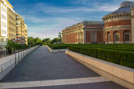 spanish landscapes: Urban landscapes, sites and monuments in Madrid