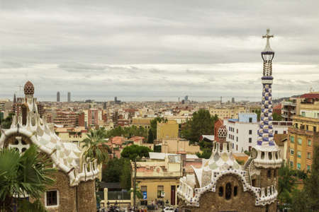 urban landscapes: Urban landscapes, sites and monuments of Barcelona.