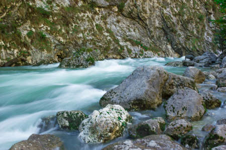 vicinity: Mountain River in the vicinity of the city of Gagra, Abkhazia