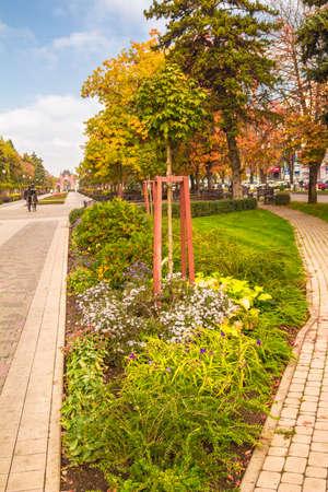 krasnodar: Landmarks and landscapes of the city of Krasnodar Stock Photo