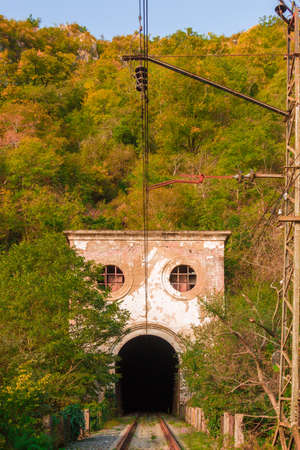 built in: Old railway tunnel built in the last century