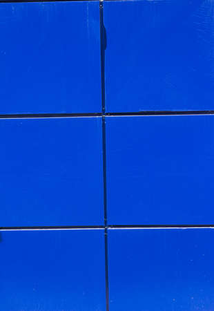 conspicuous: Background in the form of blue squares