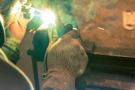 TIG welder to weld aluminum car part