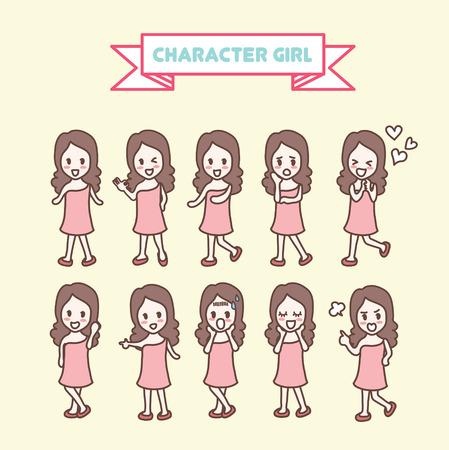 キャラクター女の子コレクション
