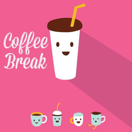 コーヒー ブレークのデザイン