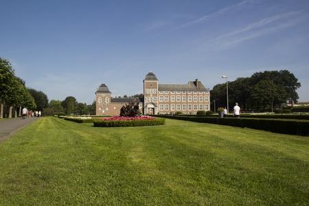 liege: castle weigmont, liege, and park