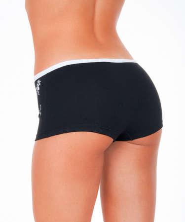 Bottom underwear, Beautiful woman in lingerie. Standard-Bild