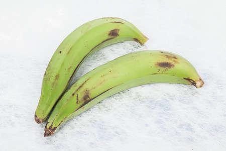 Green plantain - Superfood; photo on neutral background. Reklamní fotografie