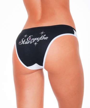 Bottom underwear, Beautiful woman in lingerie.