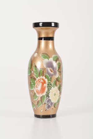 Vase isolated on White background.