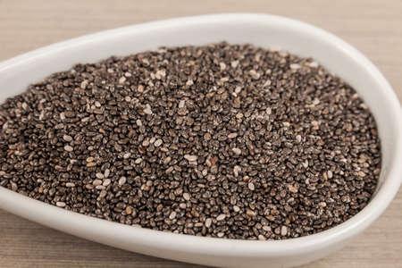 Organic Chia In Seeds - Salvia Hispanica.