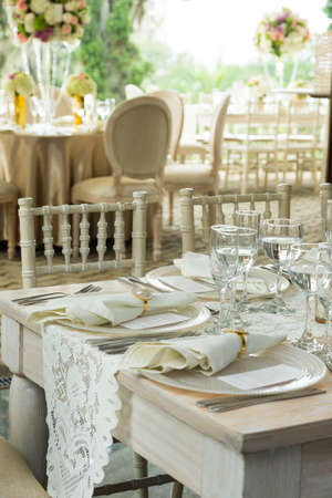 Social events reception; Tables decorated for events: Parties, birthdays, weddings, and other events.