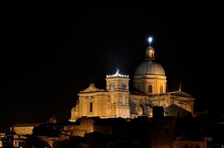ancient Sicilian town, a UNESCO heritage site