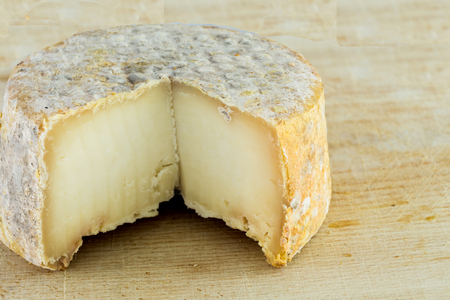 penicillium: The form of hard cheese of a bloomy rind goats milk, frost crust, treatment through special mold of the genus Penicillium, such as Penicillium camemberti. Typical soft texture and whitish color. Made with goats milk is used camemberti as penicillium.