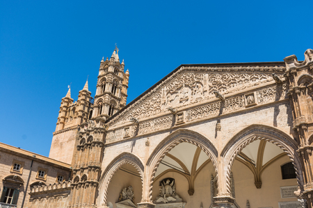 Palermo Cathedral, is a place of Catholic worship, archbishop of the Archdiocese. the Arab and Norman Way of Palermo, Cefalù and Monreale.
