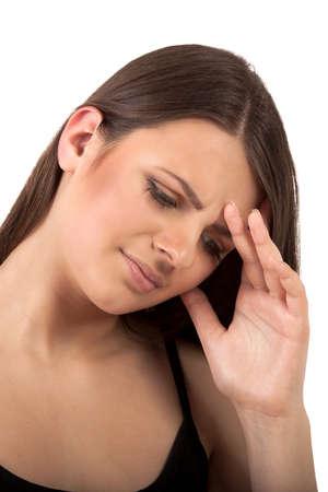 Headache problem Stock Photo