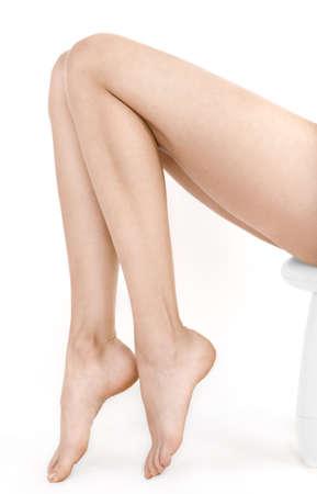 NIce woman legs Stock Photo