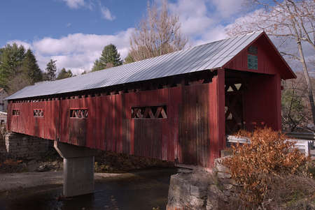 Station Covered Bridge, Northfield Falls, Vermont