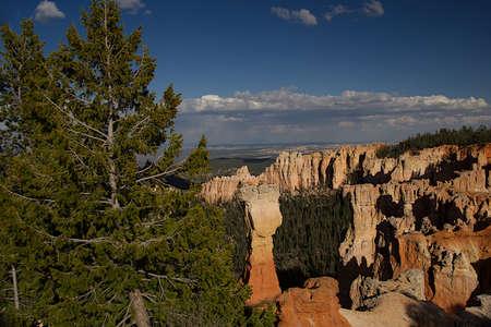 Agua Canyon Overlook in Bryce Canyon National Park, Utah Banco de Imagens