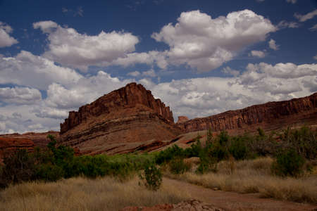 View from Potash Road near Moab, Utah
