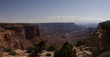 Shafer Canyon Overlook in Canyonlands National Park near Moab, Utah
