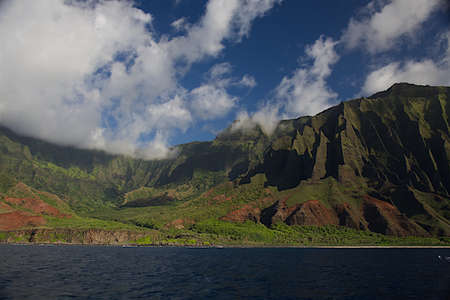 The rugged NaPali Coast of the island of Kauai Stock fotó