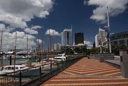 Auckland, New Zealand Viaduct Harbor