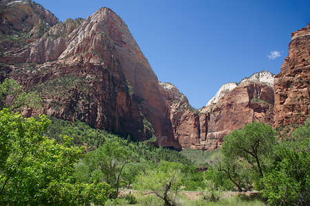Grotto Trail in Zion National Park, Utah