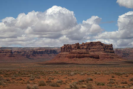 Battleship Rock in the Valley of the Gods 3514
