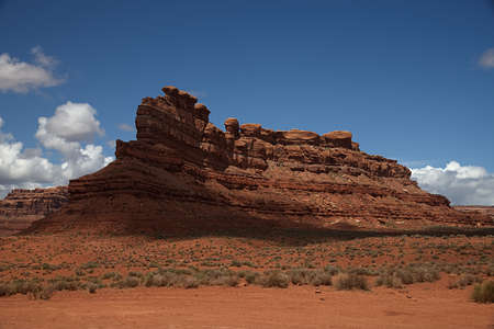 Setting Hen Butte in the Valley of the Gods 3518