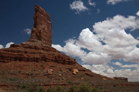 Castle Butte in the Valley of the Gods 3533