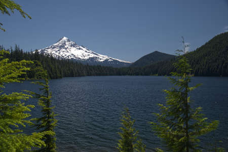 Lost Lake in the Mount Hood National Forest of Oregon 4042