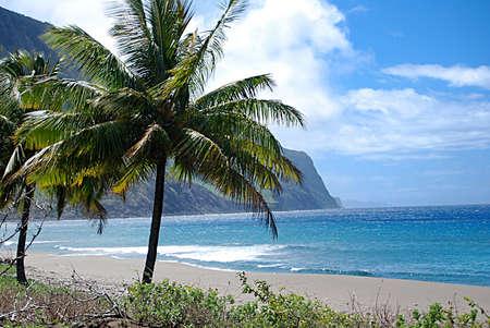 Kalaupapa National Historical Park on the Island of Molokai in Hawaii