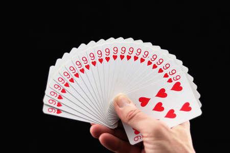 An incredible card hand