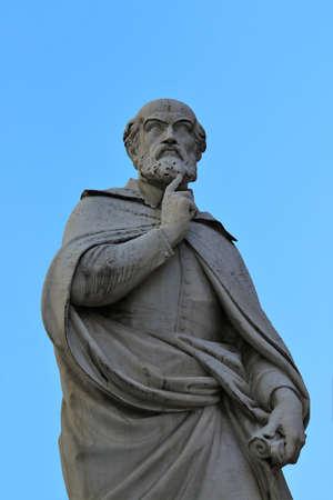 Andrea Palladio Monument, near Piazza dei Signori in Vicenza, Italy