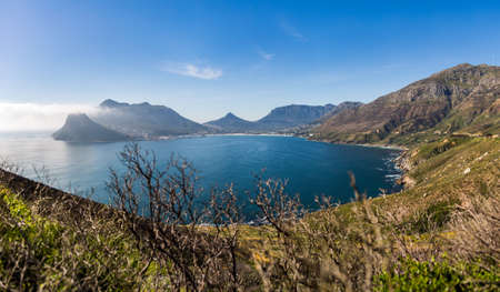chapmans: Hout Bay wide view from Chapmans Peak Drive