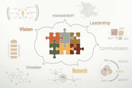 Creative corporate teamwork infographics for business reports