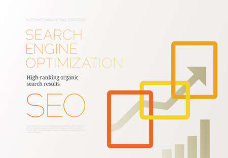 Search Engine Optimization - SEO - Success Concept