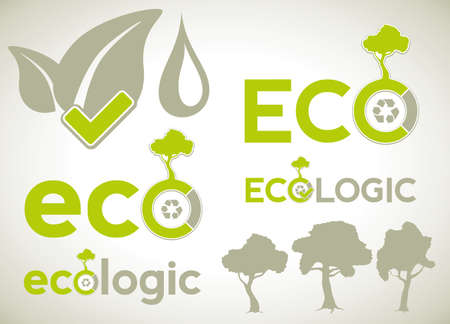 Elements for ecologic infographics and presentations