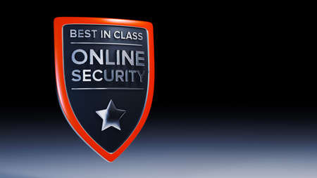 protective shield: Online security 3D protective shield design