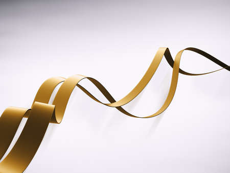 Abstract 3D curvy lines background design