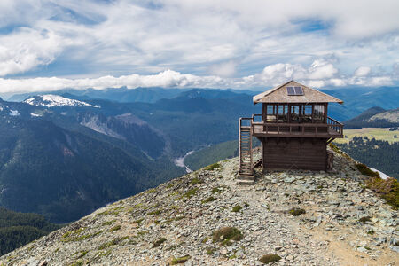 Mt  Freemont Lookout in Mt  Rainier National Park, Washington