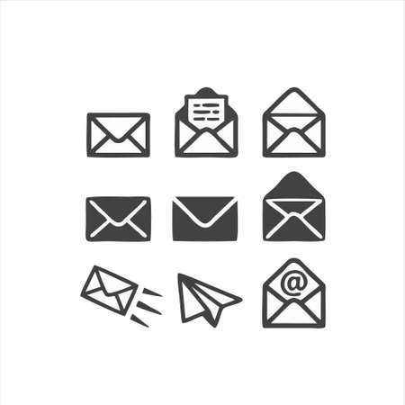 email icon isolated on white background from miscellaneous collection. email icon trendy and modern email symbol for logo, web, app, UI. email icon simple sign. email icon flat vector illustration.